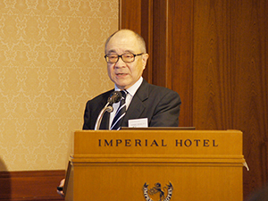 浮舟総長の講演