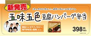 五味五色 豆腐ハンバーグ弁当