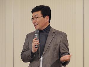 感想を述べる金海洙・平生(生涯)教育院長