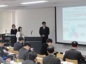 研成大学教職員への研修第3弾=新大阪の滋慶医療科学大学院大学で