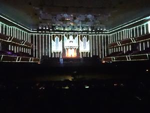 プロジェクションマッピングに彩られたパイプオルガン演奏