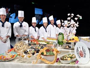 東京ベルエポック製菓調理専門学校の留学生によるプレゼンテーション