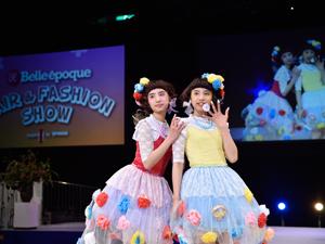 東京ベルエポック美容・ベルエポック美容専門学校の「ヘアメイク・ファッションショー」