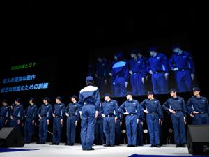 東京医薬専門学校救急救命士科在校生のプレゼンテーション