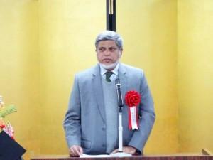 バングラデシュのホサイン学長
