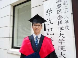 中国人として初の医療安全学修士となった楊さん